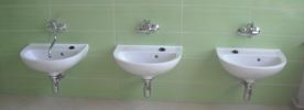 Školka Sentice rekonstrukce koupelny