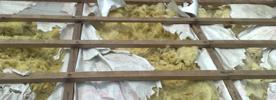 Střecha zničená od kun, montáž solárů